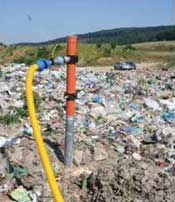 Pump test at landfill in Ukraine.