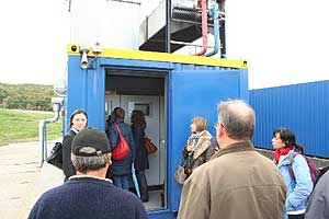 "Attendees at the ""Barycz"" Landfill's integrated solid waste management facility."