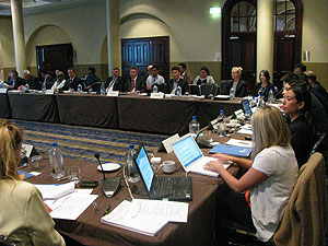 Attendees at the Coal Subcommittee meeting in Australia.