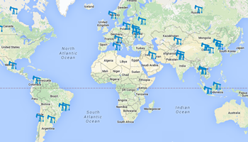 View the GLobal Map of Methane Sites